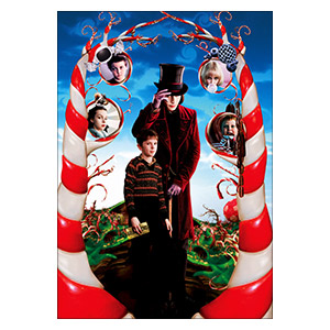 Charlie and the Chocolate Factory. Размер: 35 х 50 см